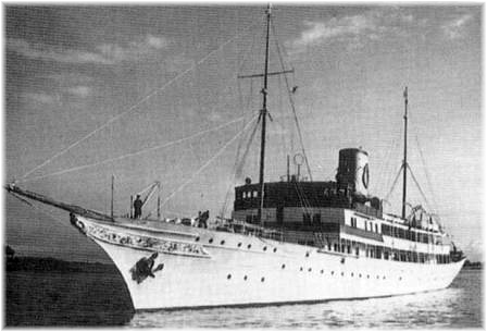 The luxury yacht Southern Cross, owned by Swedish millionaire Axel Wenner-Gren, rescued 376 survivors, including my grandmother, Rhoda Thomas.