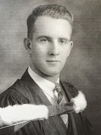 David Jennings, University of Toronto, 1940.  Photo credit: Jennings family photo.