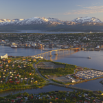 Tromso, Norway, today is a city of 75,000 people, six times larger than when City of Flint arrived in 1939.   Photo credit: fjordtravel.no