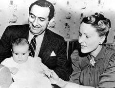 Ernst Lubitsch and baby Nicola