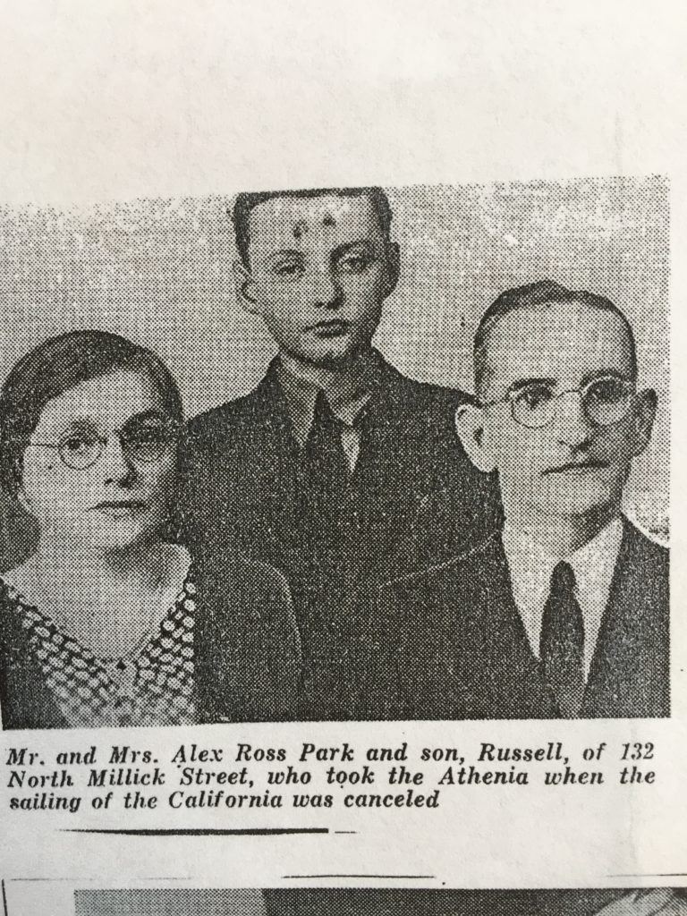 Russel Park and Parents