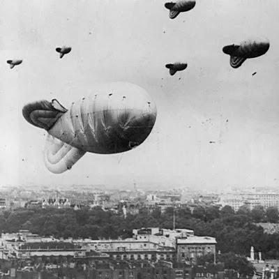WW2 Barrage Balloons